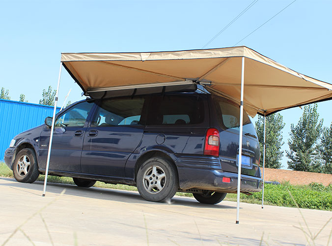 Vehicle Awning For Camping