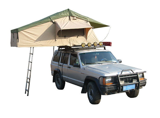 Outdoor Camping Roof Top Tent SRT01E-48(1-2 Person Tent)