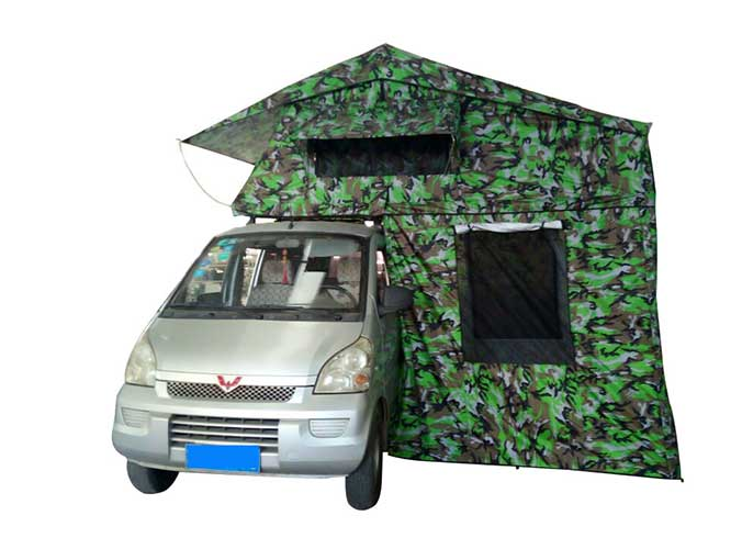Outdoor Camouflage Color Roof Top Tent