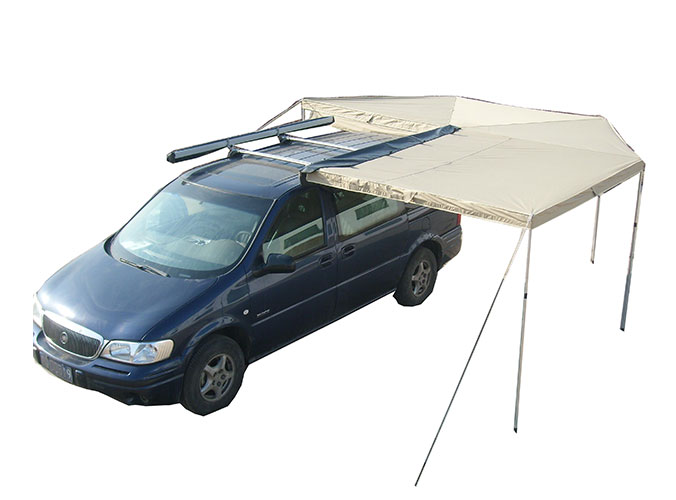 Wholesale Car Top Side Bat Awning WA02