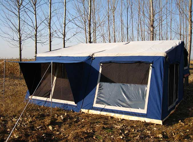 Trailer Tent SC04 (12ft Oblique Wall)