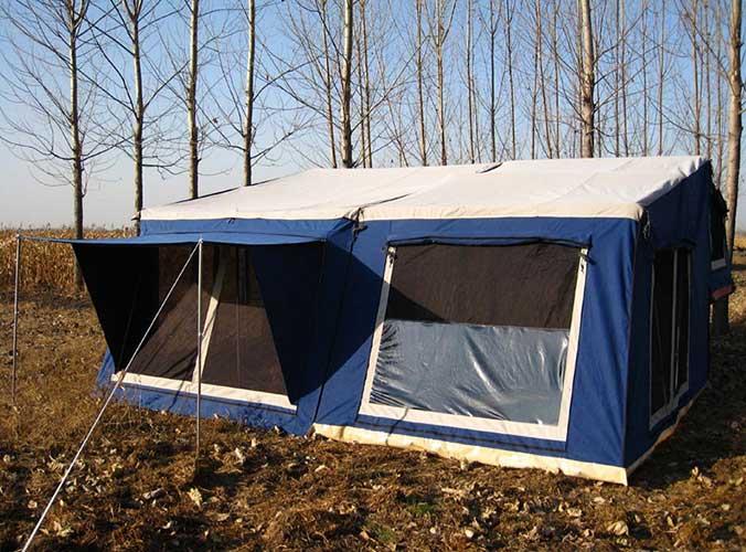 Trailer Tent SC04 (12ft Oblique Wall)