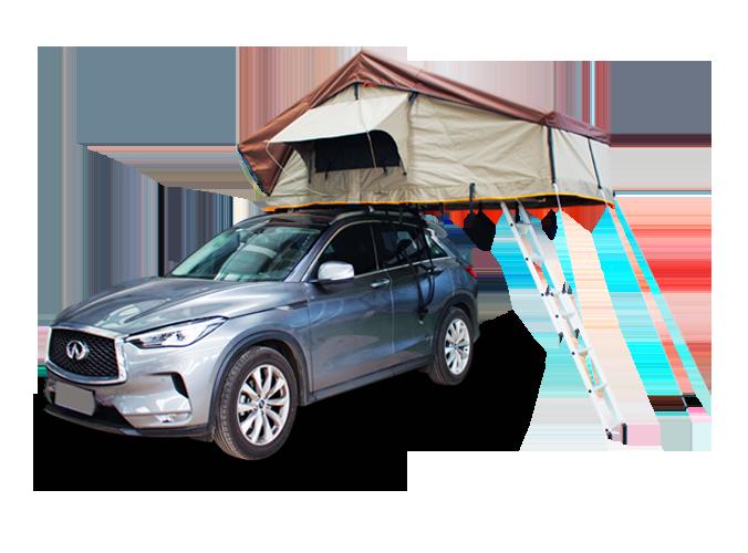 SRT02E New Style Car Top Tent