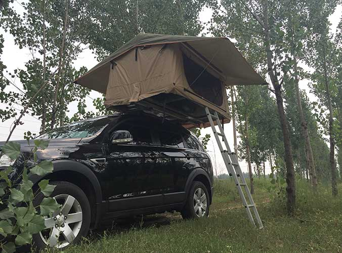 A Roof Tent That Can Take You Around The World
