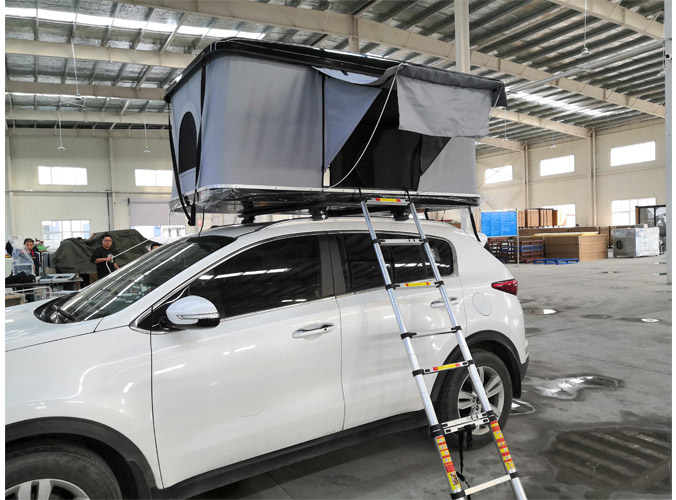 Fiberglass Roof Tent-Roof Tent Factory Pre-order starts March 12th